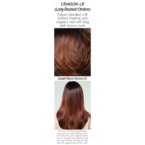 Shades: Crimson LR (Long Rooted/Ombre)